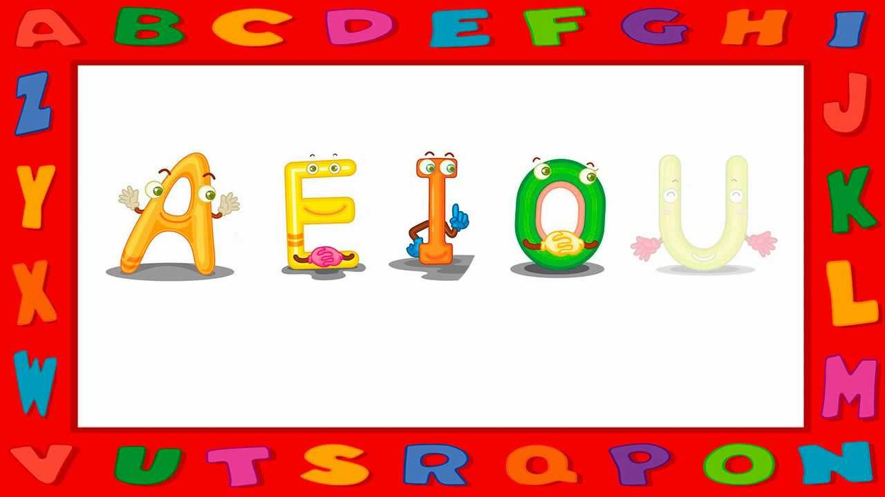 how to use aeiou vowels