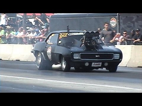 Smokin joe YB nats 2013 another bad ass camaro pass