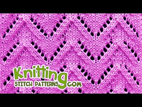 Chevron | Lace Knitting #29