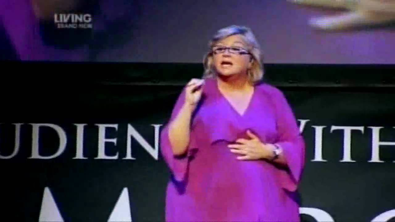 Sally Morgan At Liverpool Empire On Psychic Sally On The Road Sky Living Youtube
