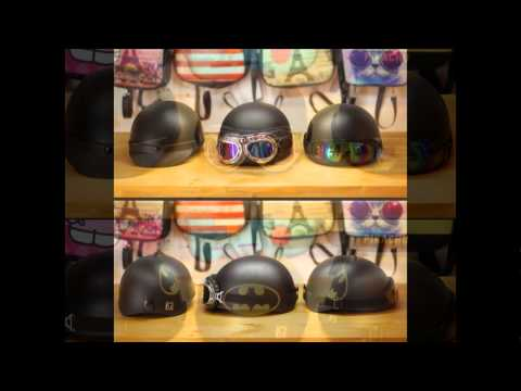 Mũ Bảo Hiểm Nửa Đầu Cực Đẹp - Độc Đáo Cá Tính  (helmet pro)