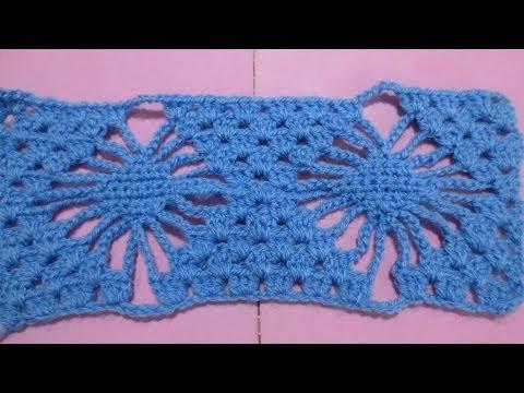 Muestra tejido araña  crochet