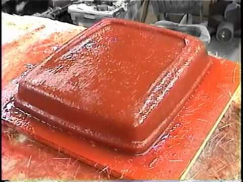 HOW TO FIBERGLASS * The Real Deal * Simple Mold * Part 2 * The Series
