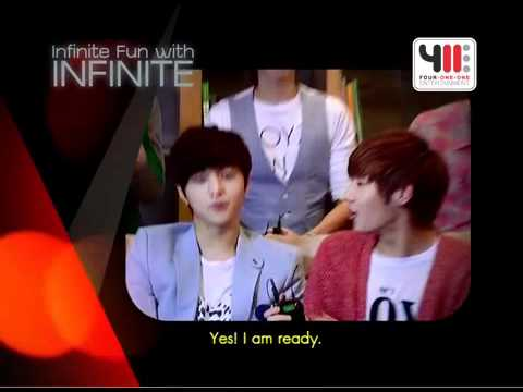 Infinite Fun with INFINITE  The 1st Fan Meeting in Thailand 2012 eng