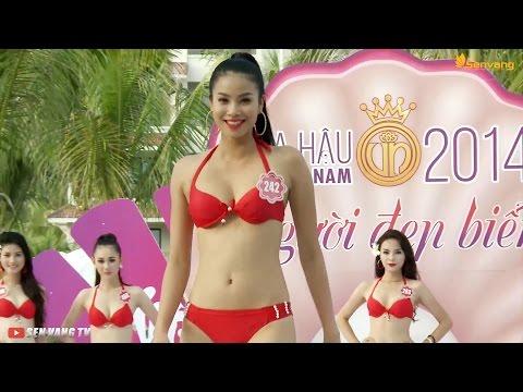 Nhìn lại hành trình tìm ra người đẹp biển, bikini của Hoa hậu Việt Nam 2014