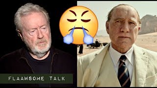 """How Angry Kevin Spacey Made Director Ridley Scott: - I Had To Get Rid Of """"IT"""""""