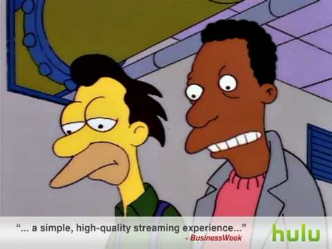 The Simpsons - Trapped in Vending Machines      - YouTube  , Homer gets his hands stuck in two vending machines at the same time. S5 Ep6.