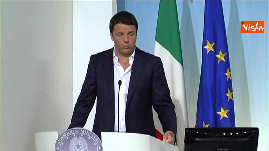 RENZI: OTTIMISTA SU RUOLO ITALIA IN UE, CAMBIARE E NON DISTRUGGERE
