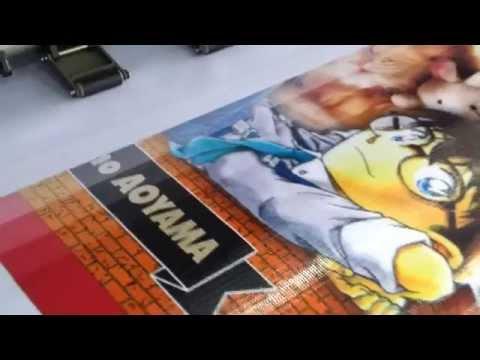 In hiflex khổ lớn quảng cáo truyện conan tập 82 sắp phát hành cho NXB Kim Đồng