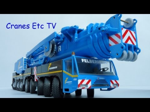 Cranes Etc TV:  Conrad Terex AC500-2 Mobile Crane Review