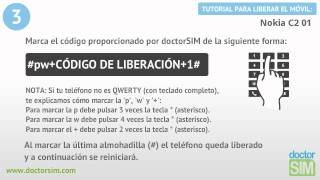 Liberar Nokia C2 01, Desbloquear Nokia C2 01