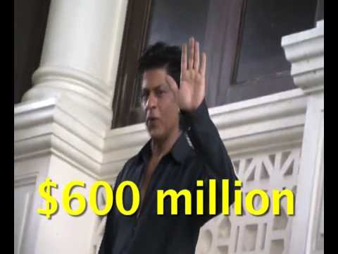 Shah Rukh beats Tom Cruise  named second richest actor in world