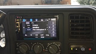 Dual XDVD256BT - LS2 Chevy Astro