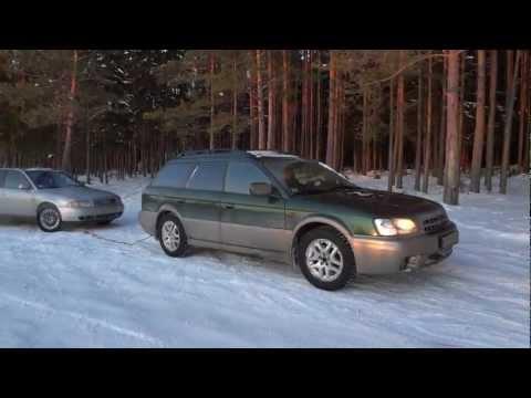 1.Subaru Outback 2001 2.5 AT winter off road