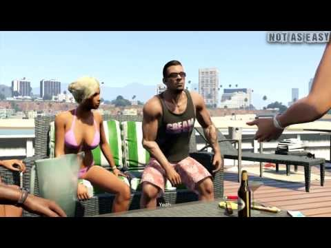 Grand Theft Auto V (GTA 5) Gameplay Walkthrough Part 10 Daddy's Little Girl [ Full HD ], Warning spoilers ahead
