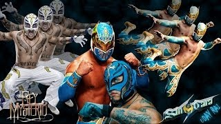 WWE 2K14: Rey Mysterio Vs Sin Cara