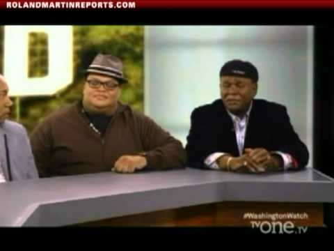 Roland Martin Mixes It Up With Comedians Ralph Harris, Royale Watkins, Chris Paul & George Wallace