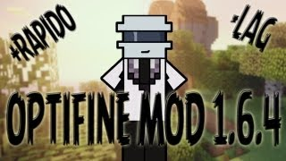 COMO INSTALAR OPTIFINE MOD MINECRAFT 1.6.4 (TUTORIAL EN