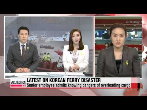 Latest on Korean ferry disaster