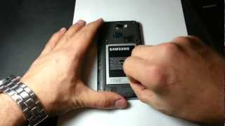 Samsung Galaxy S5, Note 3, S4 / Note 2- How To Insert Sim Card