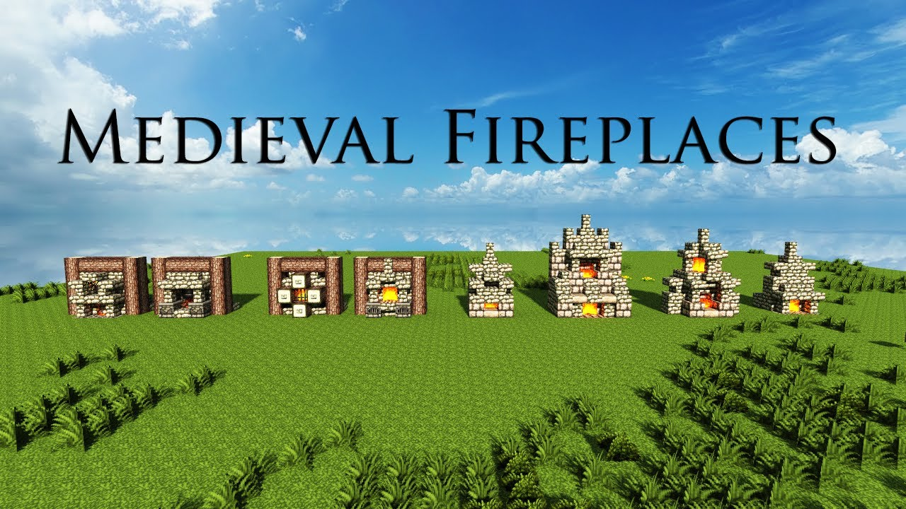 fireplace designs i really like 2 4 u0026 6 minecrafting