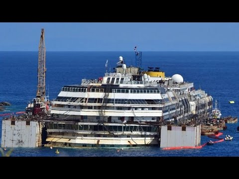 Costa Concordia: the salvage operation by numbers