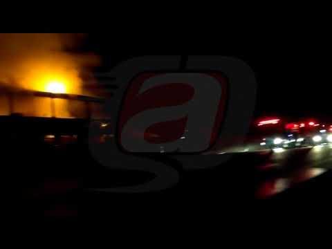 Vídeo Ônibus com destino a Aparecida do Norte pega fogo em São Carlos, SP