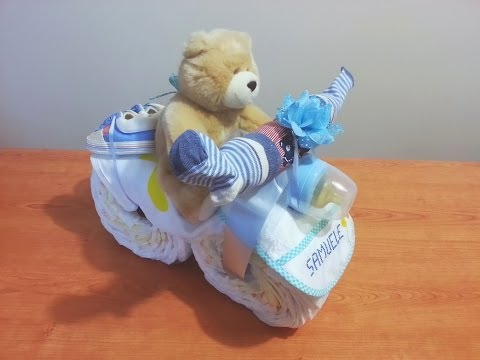 Diaper Cake Motorcycle Directions YouTube