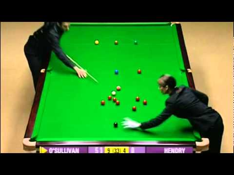 Snooker - Ronnie O'Sullivan, 135 Break vs Stephen Hendry (World Championships 2008)