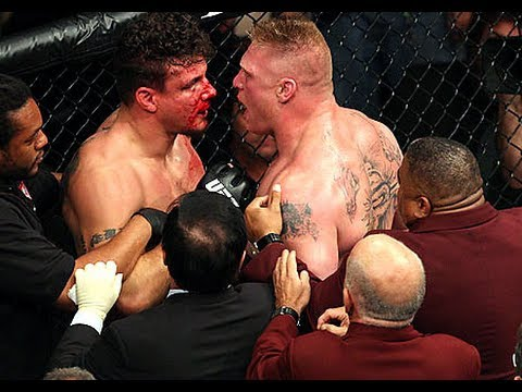 UFC 100: Brock Lesnar vs Frank Mir II Full Fight Analysis / Review