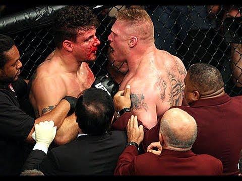 UFC 100: Brock Lesnar vs Frank Mir II Full Fight Analysis / Review