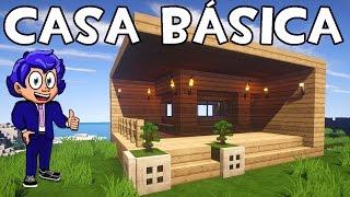 Casa pequeña en Minecraft