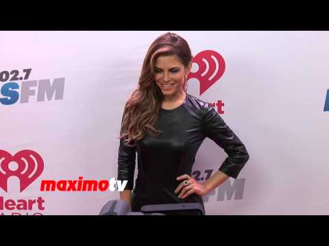 Maria Menounos KIIS FM's Jingle Ball 2013 Red Carpet Arrivals - Greek Goddess!