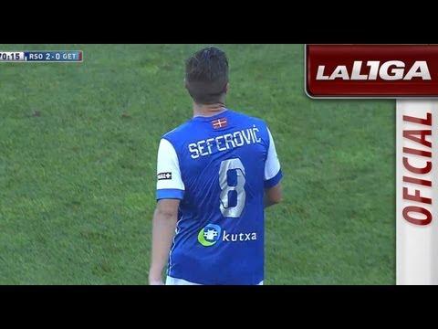 Gol de Seferovic (2-0) en el Real Sociedad - Getafe CF - HD