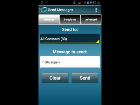 Business Texter Settings: Post messages sent to your text message inbox