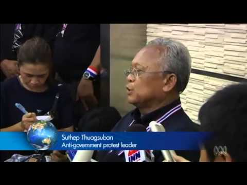 กำนันสุเทพ Thailand Protests PM warns against instability