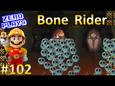 Bone Rider | Super Mario Maker Part 102