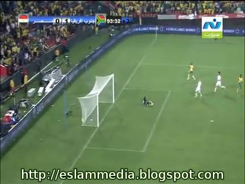هدف جنوب افريقيا فى مصر - تصفيات كأس الامم الافريقية 2012