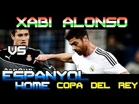 Xabi Alonso vs Espanyol Copa del Rey Home ( 28 - 01 - 2014 / 28/01/2014 - 28.01.2014 ) [HD]