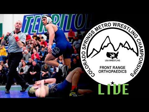 2014 Colorado Springs Metro Championships Semifinals Live - Mat 3