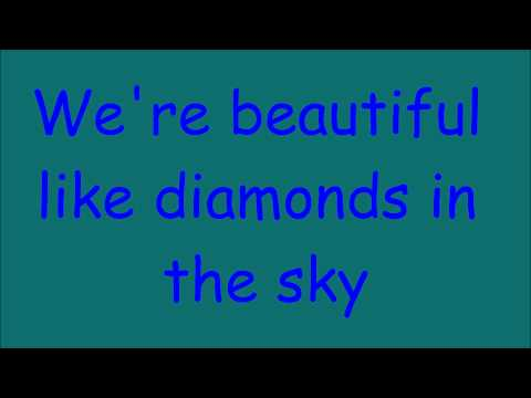 Rihanna - Diamonds (in the sky) (paroles)