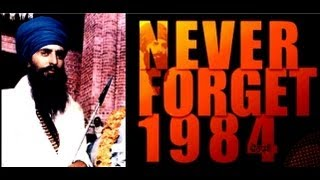 Never Forget 1984 ! Why ?. New Punjabi Movie 2013 Full