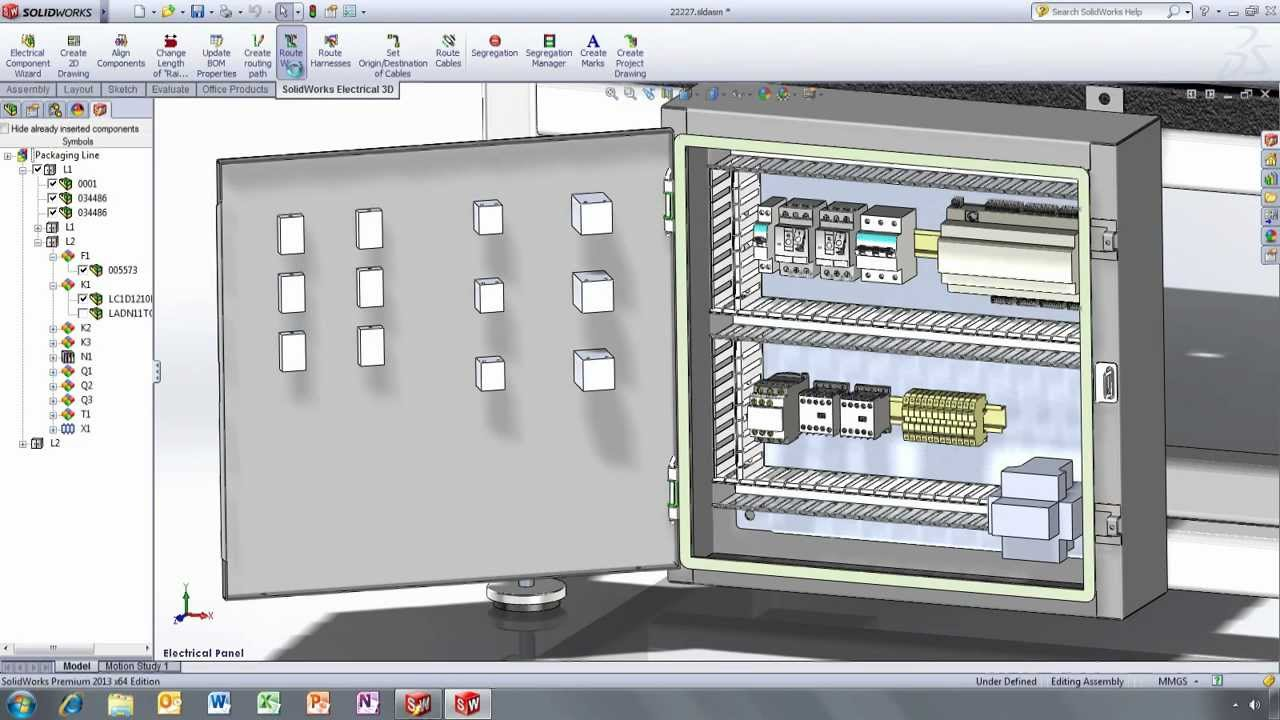 Solidworks electrical руководство
