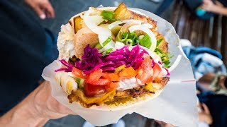 Tel Aviv Food Tour - BEST Sabich, Hummus, and Lamb Pita - Middle Eastern Israeli Food!