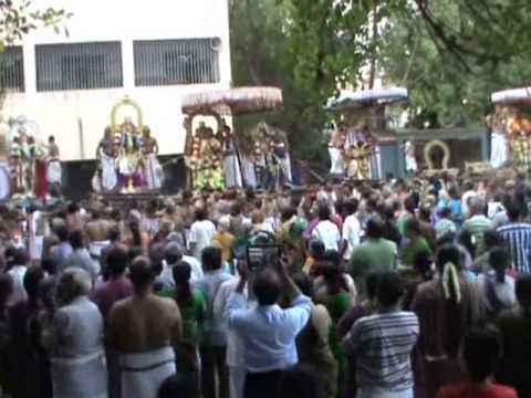 Pancha Garuda Seva 2014