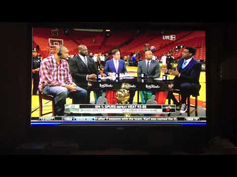 Tim Duncan NBA Finals 2013 Post Game on NBA TV