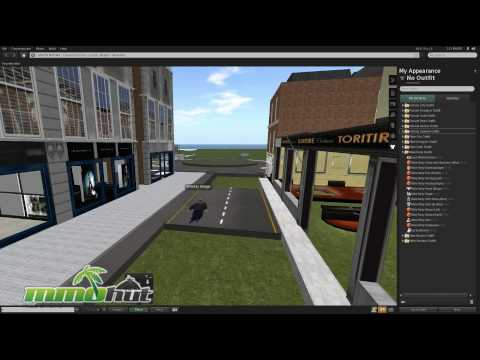 Second Life Gameplay - First Look HD