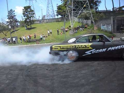 Burnout no 1º Expocar Mauá