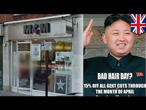 Barbero sa UK, tinawanan ang hairdo ng North Korean leader na si Kim Jong-Un!