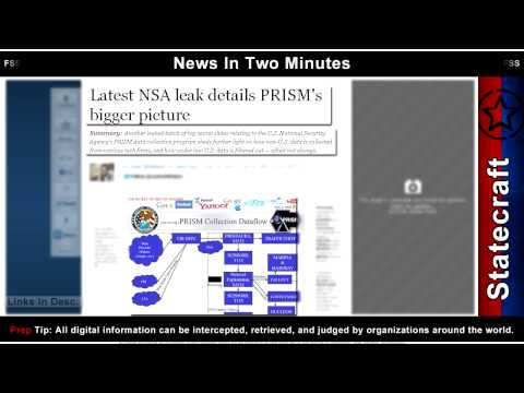 News In Two Minutes - Mobs In Egypt vid - Gold Falls - MERS - Spying - Prepper Survival News